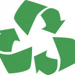used car parts recycle symbol